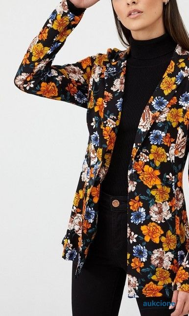 Printed Casual Jacket